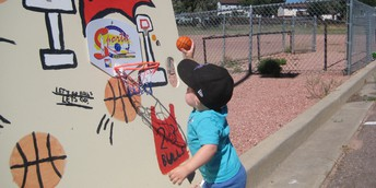 Future Fremont Basketball Star!