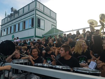 HS Band In the Stands