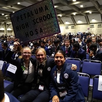 PHS Proud on the convention floor!
