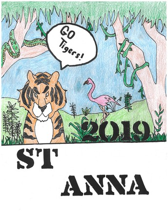 2018-2019 St. Anna School Yearboks