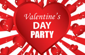 Valentine's Parties - Thursday, February 13th