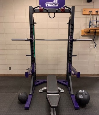 New Weight Room Equipment is here for our students