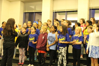Pine Road's Choir performed at the October Board Meeting.