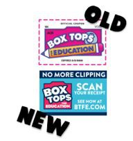 Box Tops Are Going Digital!