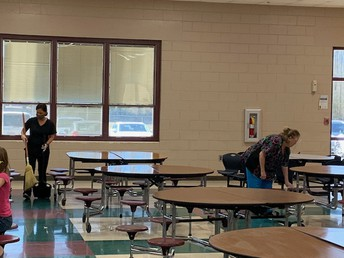 Our OES CNP staff is THE BEST!    These sweet ladies ensure all of our staff and students have nutritional meals, but most of all their caring hearts for our students are VERY MUCH APPRECIATED!