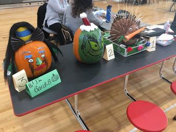 8C Pumpkin Deocrating Contest