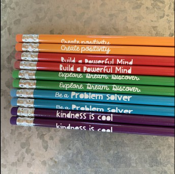 Positive Message Pencil (#2 lead)
