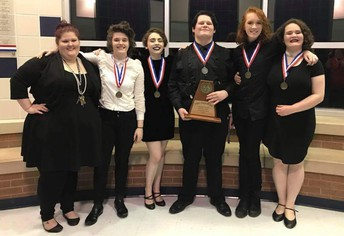 One Act Play Wins District!