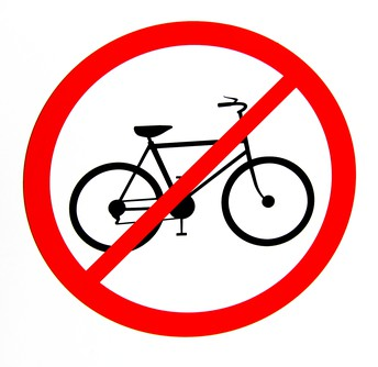 No Bikes or Motorcycles Allowed