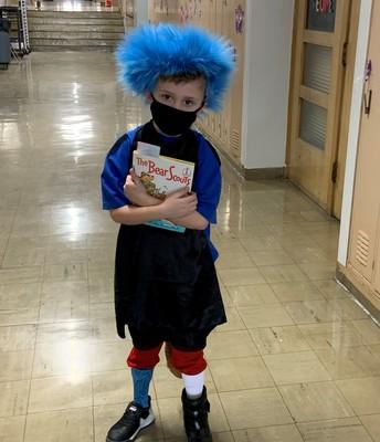 Kindergarten celebrated Dr. Seuss!