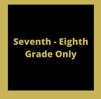 GRADES 7-8 ANNOUNCMENTS