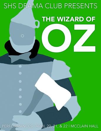SHS Drama Club working on...The Wizard of Oz