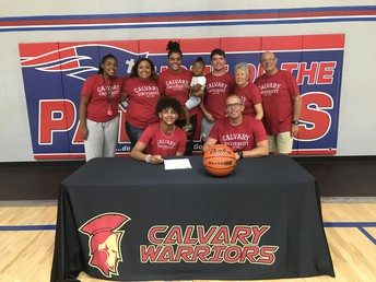 Smith Signs with Calvary University