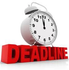 Non Core Classes Deadline Approaching