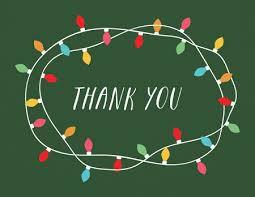 PTO Holiday Staff Program Thank You