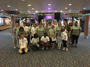 Gators of the Week: Students in OCP get a rare experience onboard Royal Caribbean