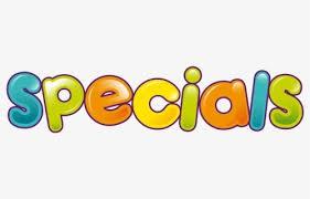 Specials update