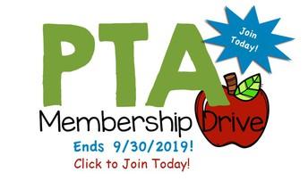 2019-2020 EC PTA Membership Drive