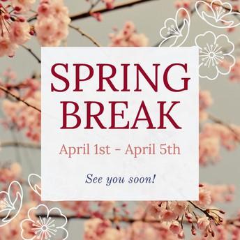 Spring Break - School Closed