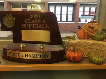 Girls Softball 2020 State Champions