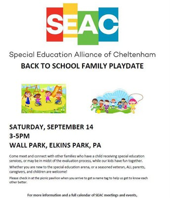 SEAC BTS Family Playdate