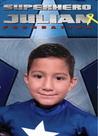 SUPER HERO JULIAN DAY - May 17th National DIPG Day