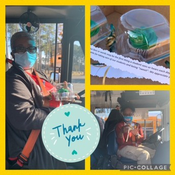 We appreciate our Bus Drivers!