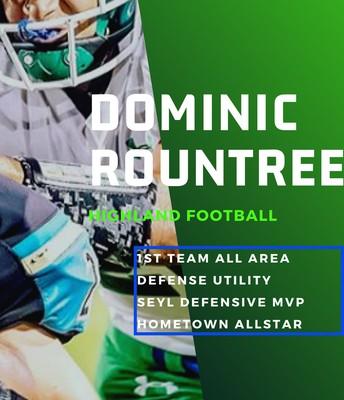 Sophomore Dominic Rountree