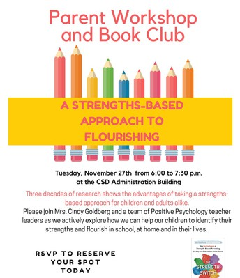 Parent Workshop and Book Club