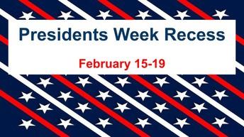 Presidents Week Recess
