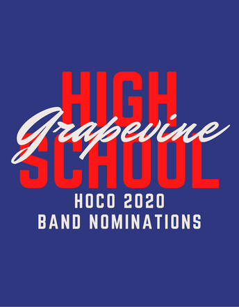 Homecoming - Mustang Band Nominations
