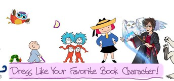 Book Character Day - Friday, November 1st