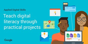 Resource of the Month:  Applied Digital Skills for MS and HS Students
