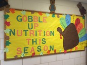 Cafeteria Staff Encouraging Good Nutrition