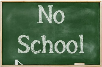 Don't Forget, 1/2 Day for all Students on 10/15 and no School on 10/16