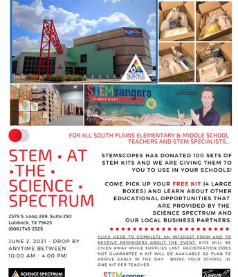 STEM at the Science Spectrum Flyer