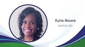 Kyria Moore - New K-5 Math Facilitator DeSoto ISD
