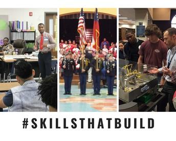 Skills that build photo collage