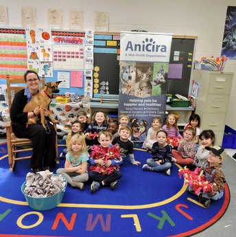Pre-School's Kindness activity for Anicira