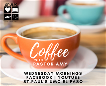 Coffee with Pastor Amy