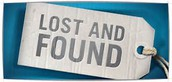 Reminder for Lost and Found