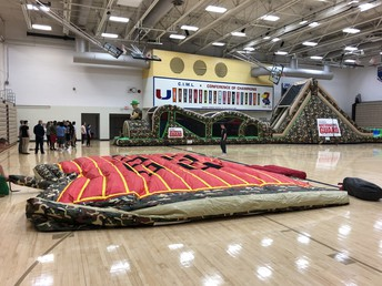 National Guard on hand for special activities during block day PE