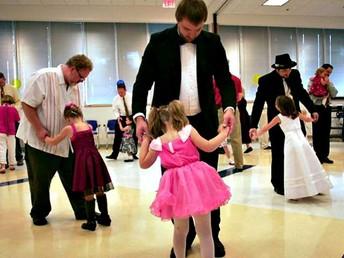 February 17:  Winter Family Dance
