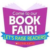 Book Fair is Coming!  Monday, November 13!!
