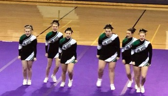 Competitive Cheer at Regional Competition