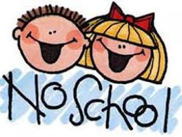 NO SCHOOL MAY 28-31, 2021