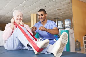 FEATURED CAREER OF THE WEEK:                                                      Physical Therapy Assistant
