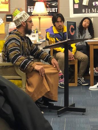 Imam Azfar @Warren High School