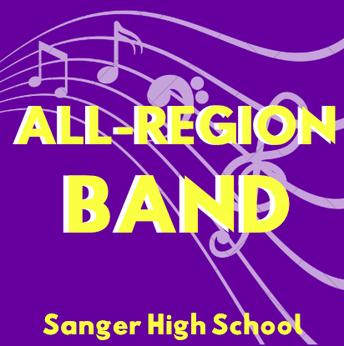 All-Region Band Winners!