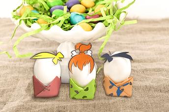 Flintstone Eggs